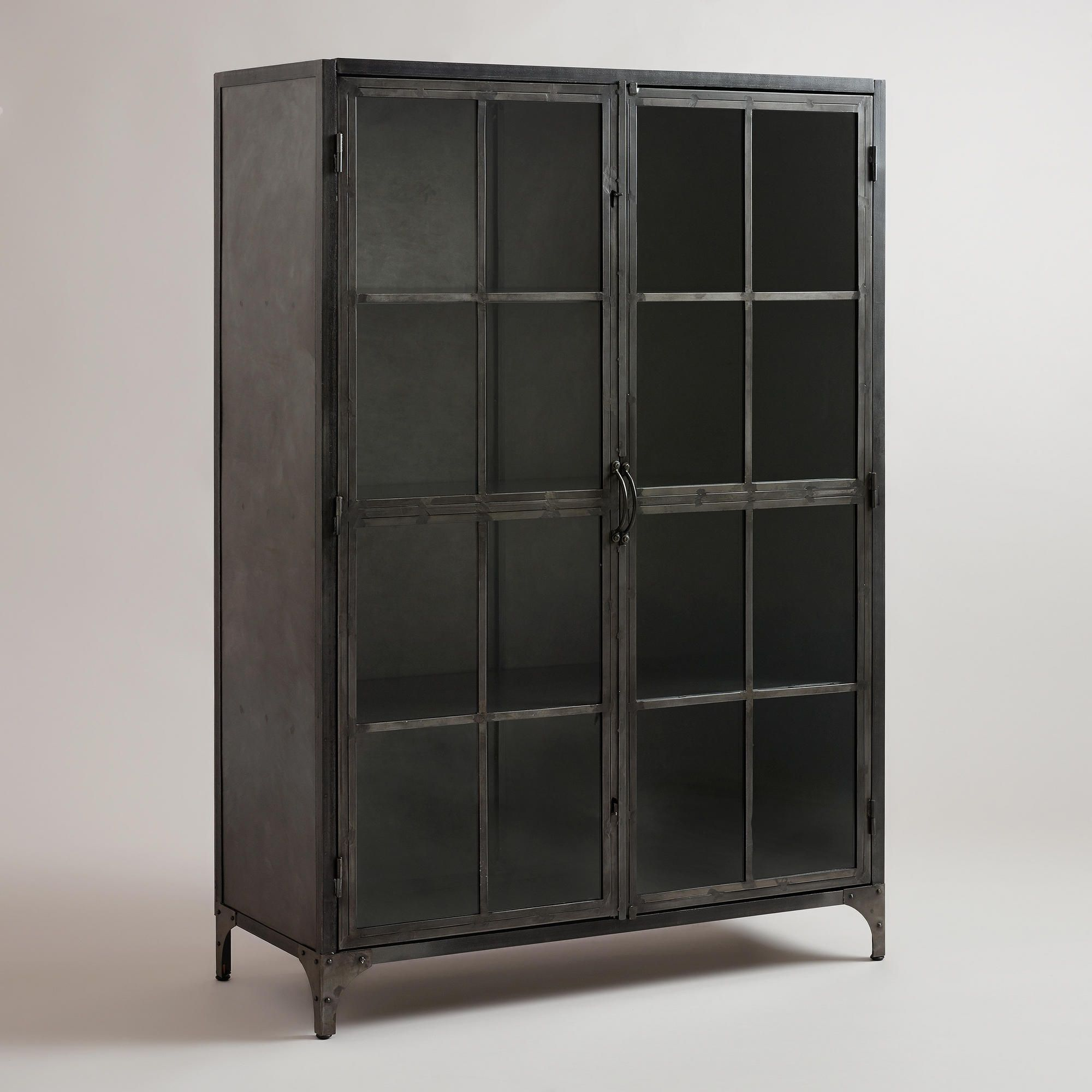 Metal Display Cabinet  Industrial  Storage Units And Cabinets