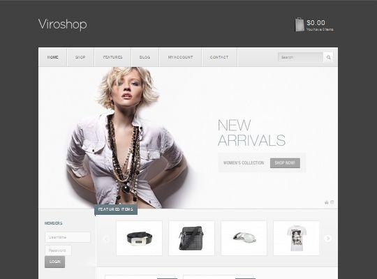 Viroshop Has Over 50 Background Patterns Fashion Web Design Ecommerce Woocommerce Themes