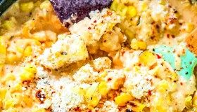 Mexican Street Corn Recipe {How to Make Corn Elotes at Home} #mexicanstreetcorn