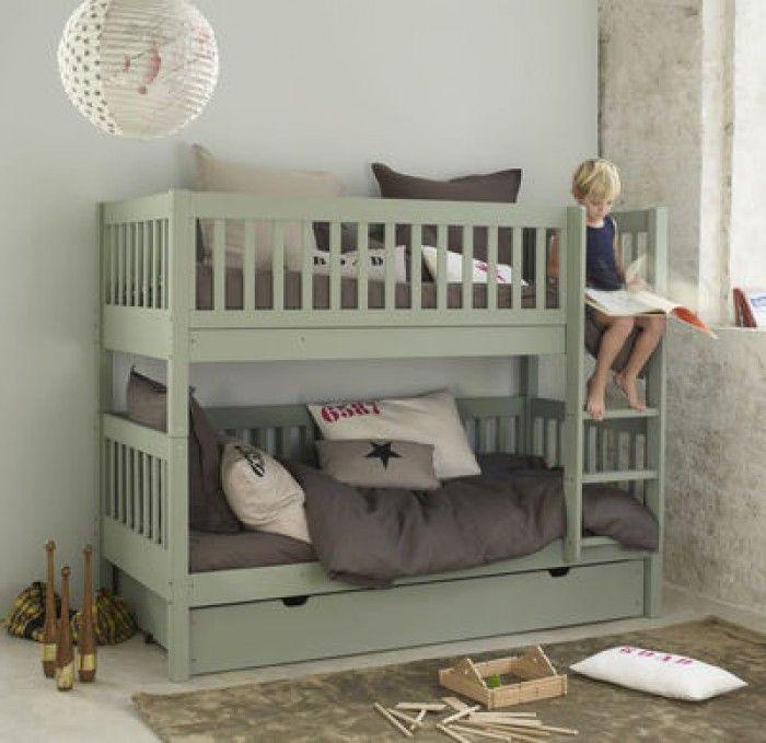 mooie kleur stapelbed! - kidsroom / kinderkamer | pinterest, Deco ideeën