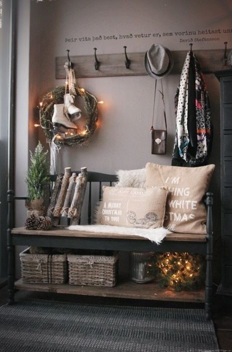 31 Amazing Mudroom And Entryway Benches Home decor Pinterest