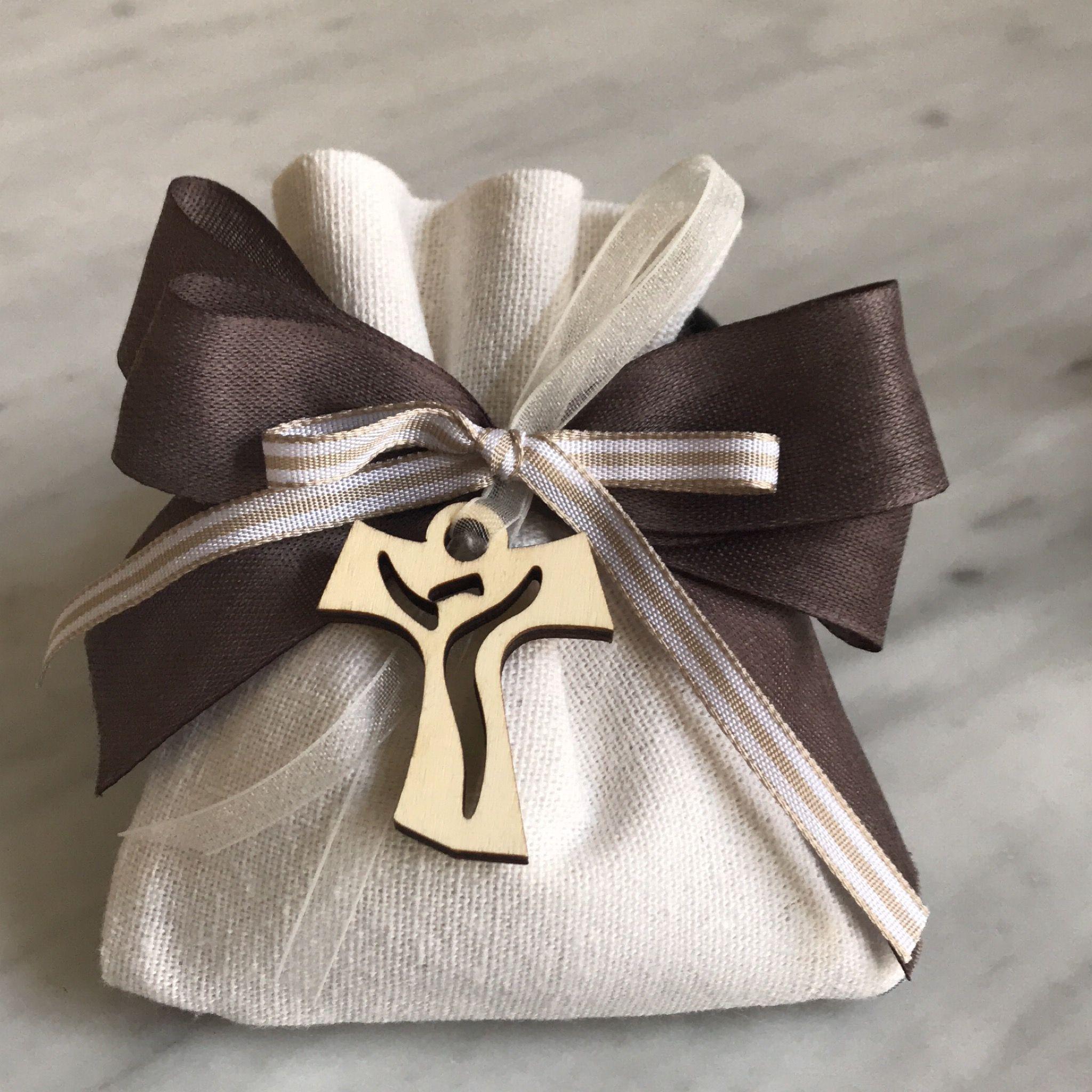Porta Confetti Per Comunione Tao Confetti Comunione Croce Legno Bomboniere Di Comunione Comunione Decorazioni Battesimo