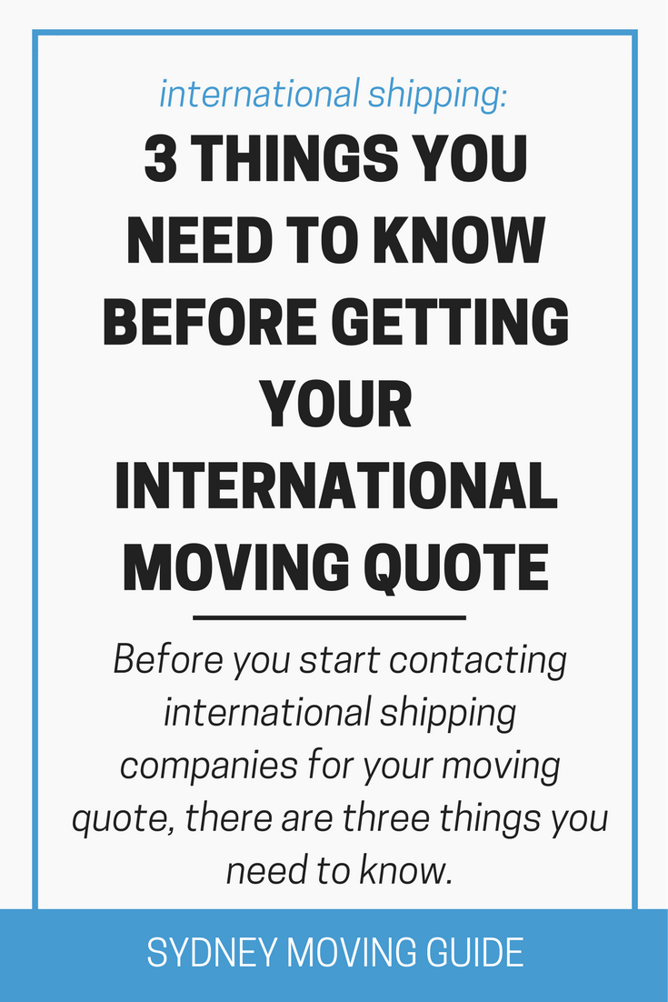 Moving Quote Alluring What You Need To Know Before Getting Your International Moving Quote . Design Decoration