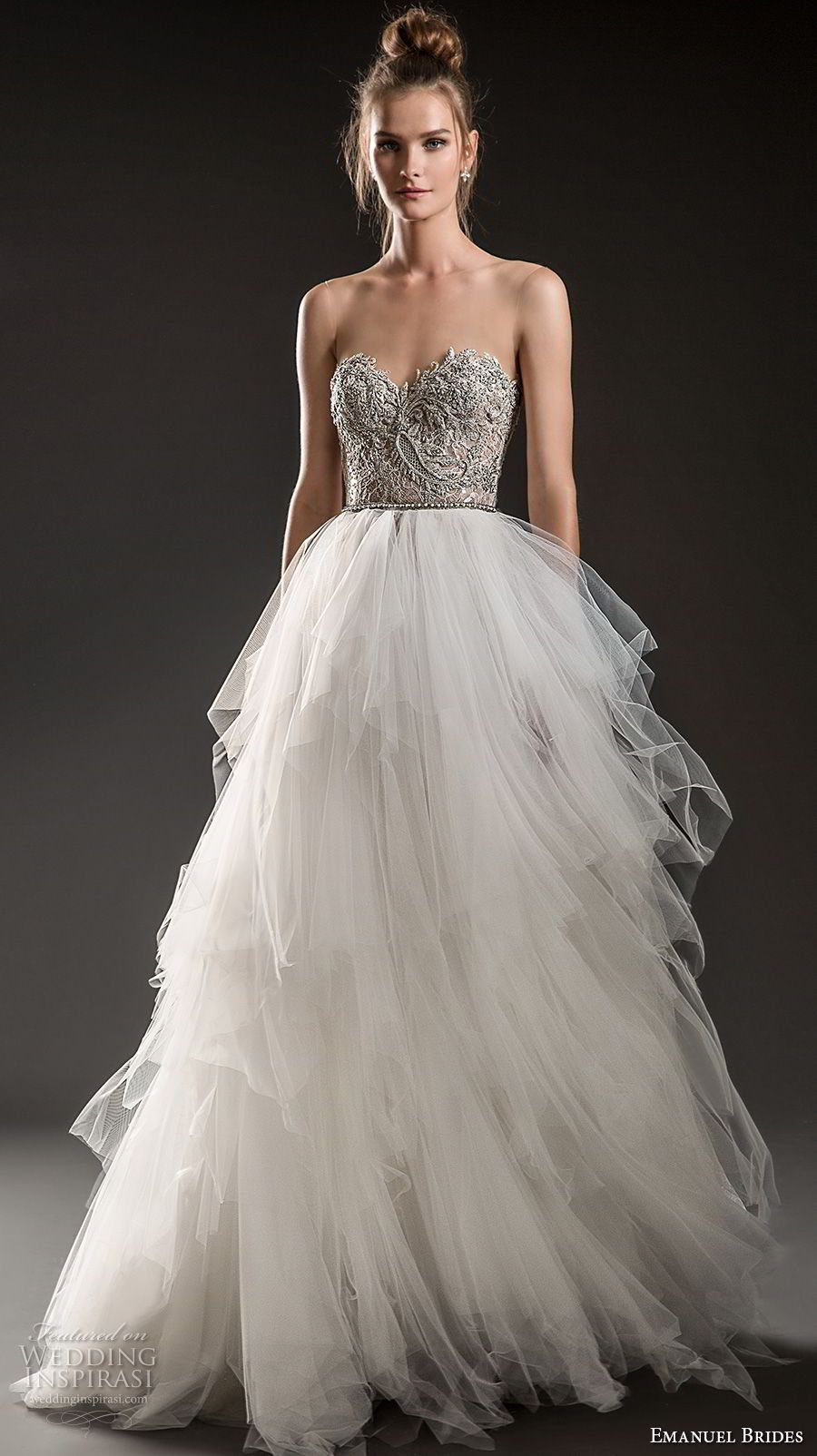 Belles wedding dress  Emanuel Brides  Wedding Dresses  Style  Pinterest  Bodice