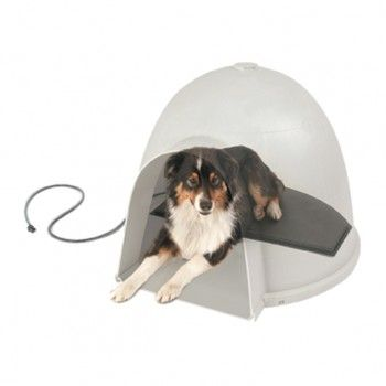 Lectro Kennel Igloo Style Heated Pad Heated Dog Bed Heated Pet Beds Pet Pads