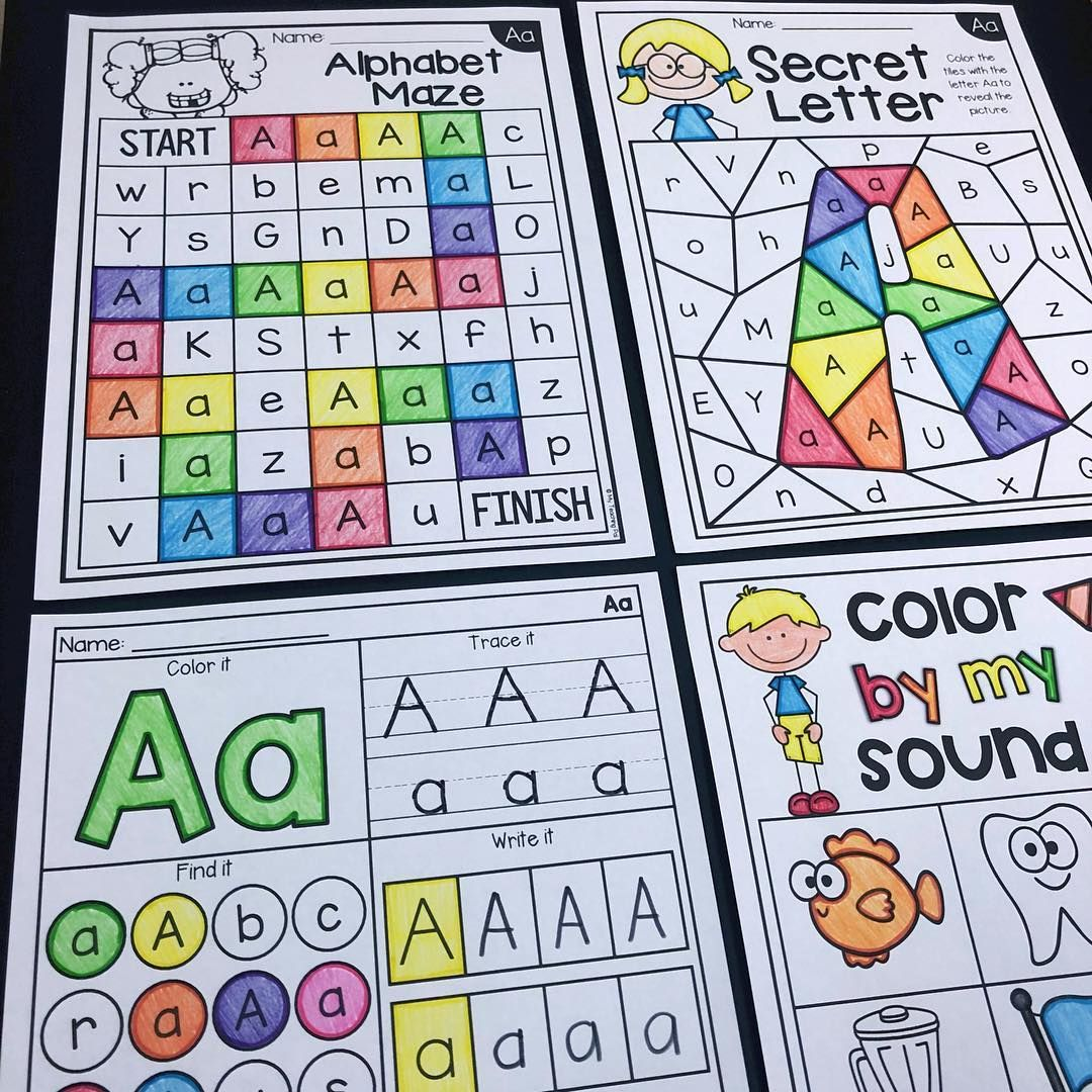 Alphabet Worksheets These Worksheets Are My Fave They