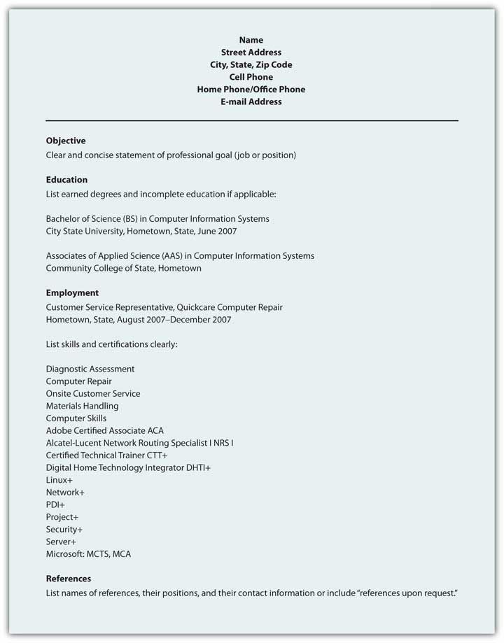 Scannable Resume Keywords - http\/\/wwwresumecareerinfo\/scannable - computer systems security officer sample resume