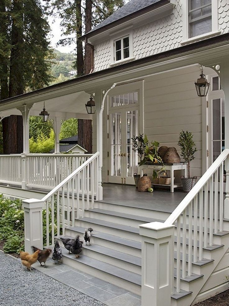 70+ Top Modern Farmhouse Exterior Design Ideas - #Design #Exterior #Farmhouse #Ideas #Modern #porches #Top #exteriordesign