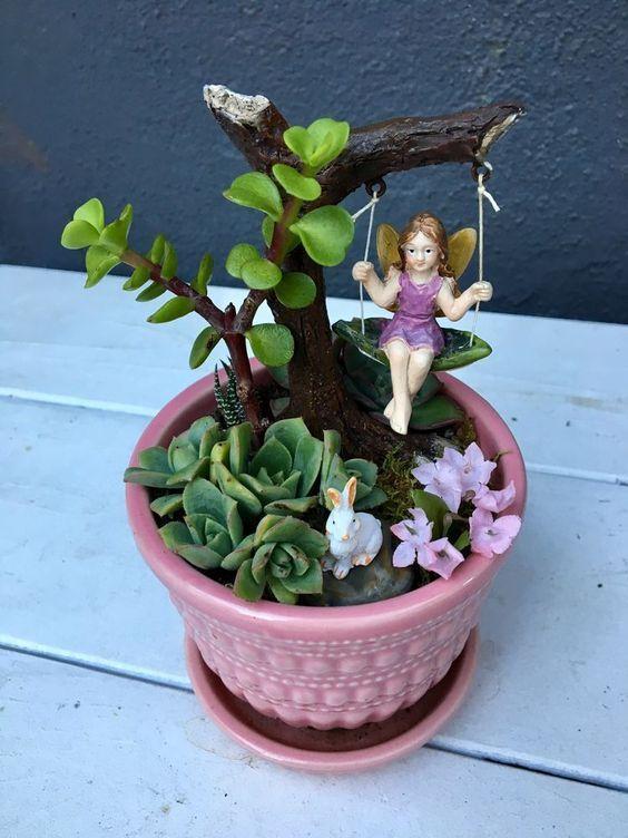 Photo of 62 DIY Miniatur Fairy Garden Ideen, um Magie in Ihr Zuhause zu bringen – Seite 18 von 62 – So…