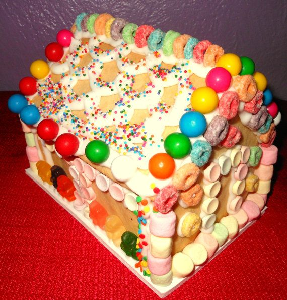 Make Your Own Sugar Cookie House Kit For Showers, Birthday