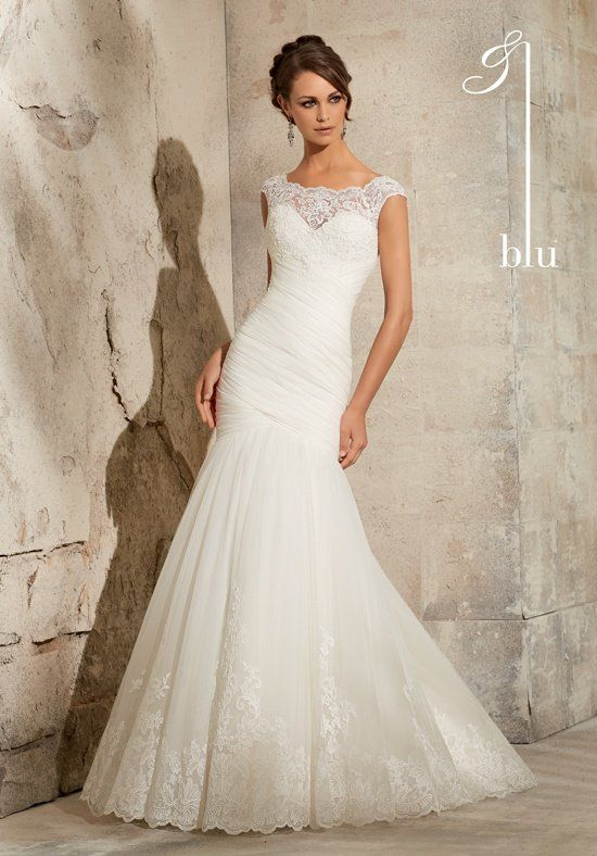 Blu by Madeline Gardner 5305 Wedding Dress