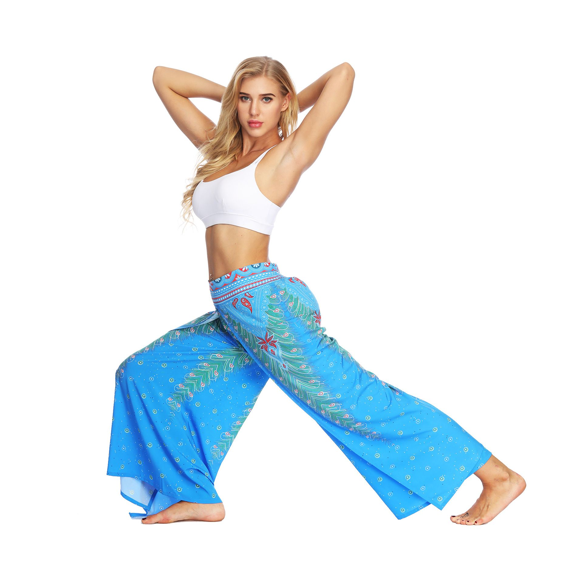 Palazzo pants| hippie trousers Thai trousers unisex baggy trousers Split leg elephant trousers boho trousers