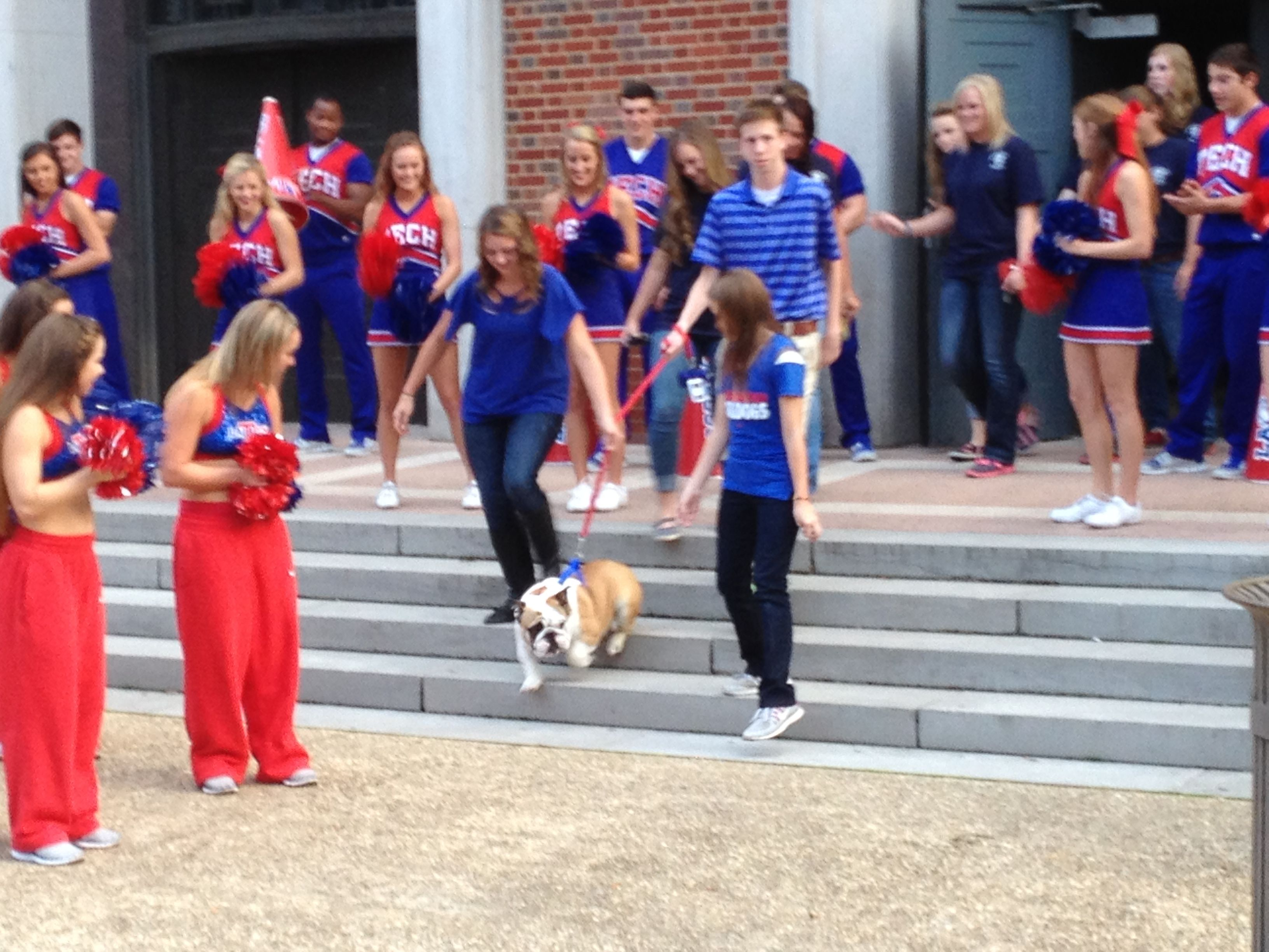 LA Tech mascot, Tech XXI introduced in 2013. (With images