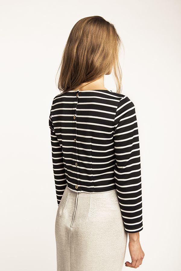 Kanerva Button Back Shirt | Oberteil - Schnittmuster | Pinterest ...