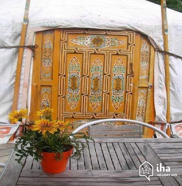 Insolite ! Location Yourte (tente Mongole) pour 4 personnes avec 1 chambre