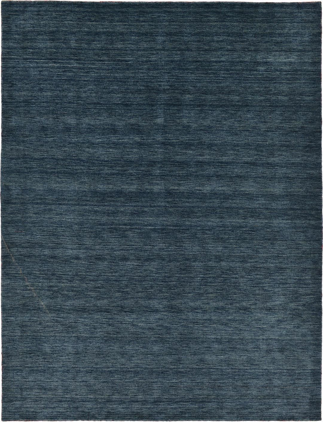 Navy Blue 300cm X 395cm Solid Gabbeh Rug Oriental Rugs Irugs Nz