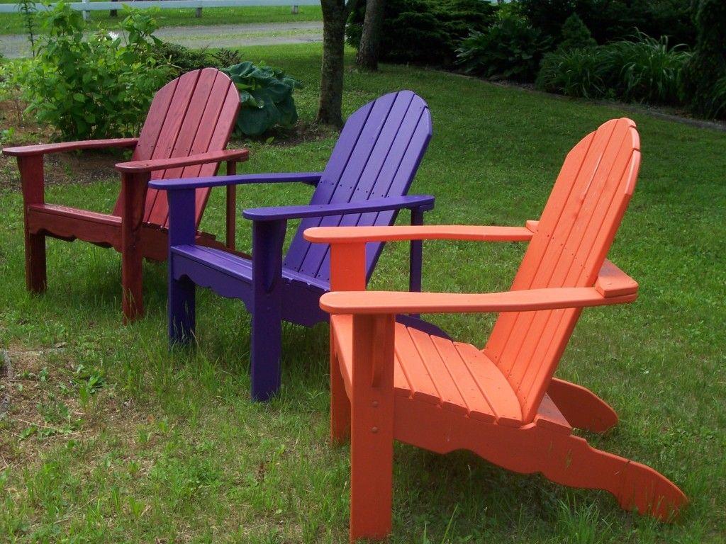 lila adirondack stuhl   stühle   pinterest