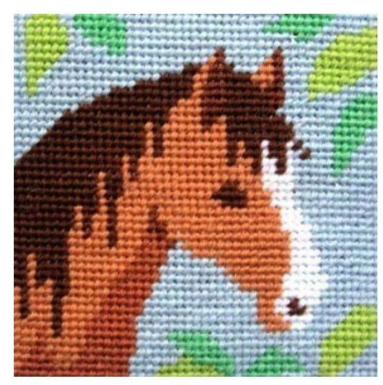 Horse Free Cross Stitch Pattern Chart