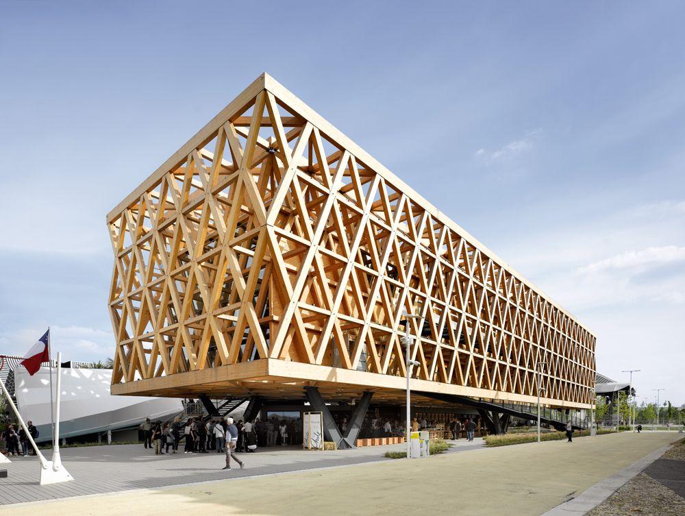 Cristi n undurraga pabell n de chile en la expo milano for Architektur chile