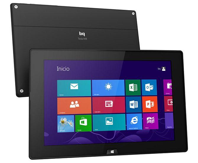 Tablet bq con sistema operativo Windows 8. Incluye licencia completa y para toda la vida de Office.