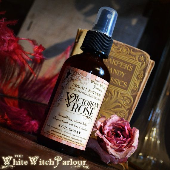 VICTORIAN+ROSE.+Crystal+Blessed+Smudging+Spray.+Aura+Spray%2C++All+Natural.++Love%2C+light%2C+rose+quartz%2C+raise+vibrations%2C+passion%2C+rose+water