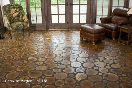 Fußboden Aus Holzscheiben ~ Pin von anne kathrin auf der boden pinterest haus holz und fußboden