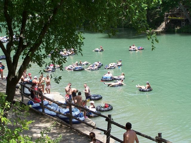 Guadalupe River Rv Tent Camping Tubes On The Canyon Lake