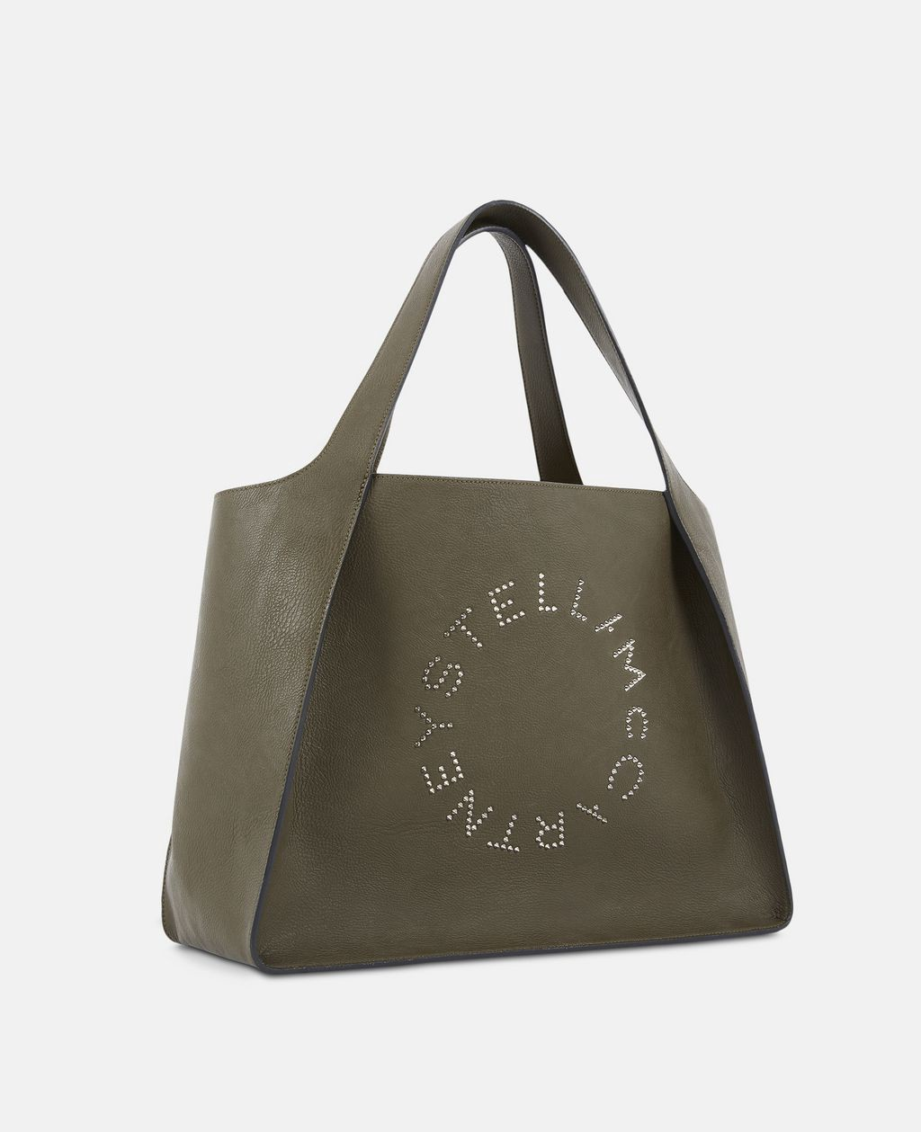 Stella Mccartney Studded Logo Tote Bag - Green Onesize  589d8294d61d3