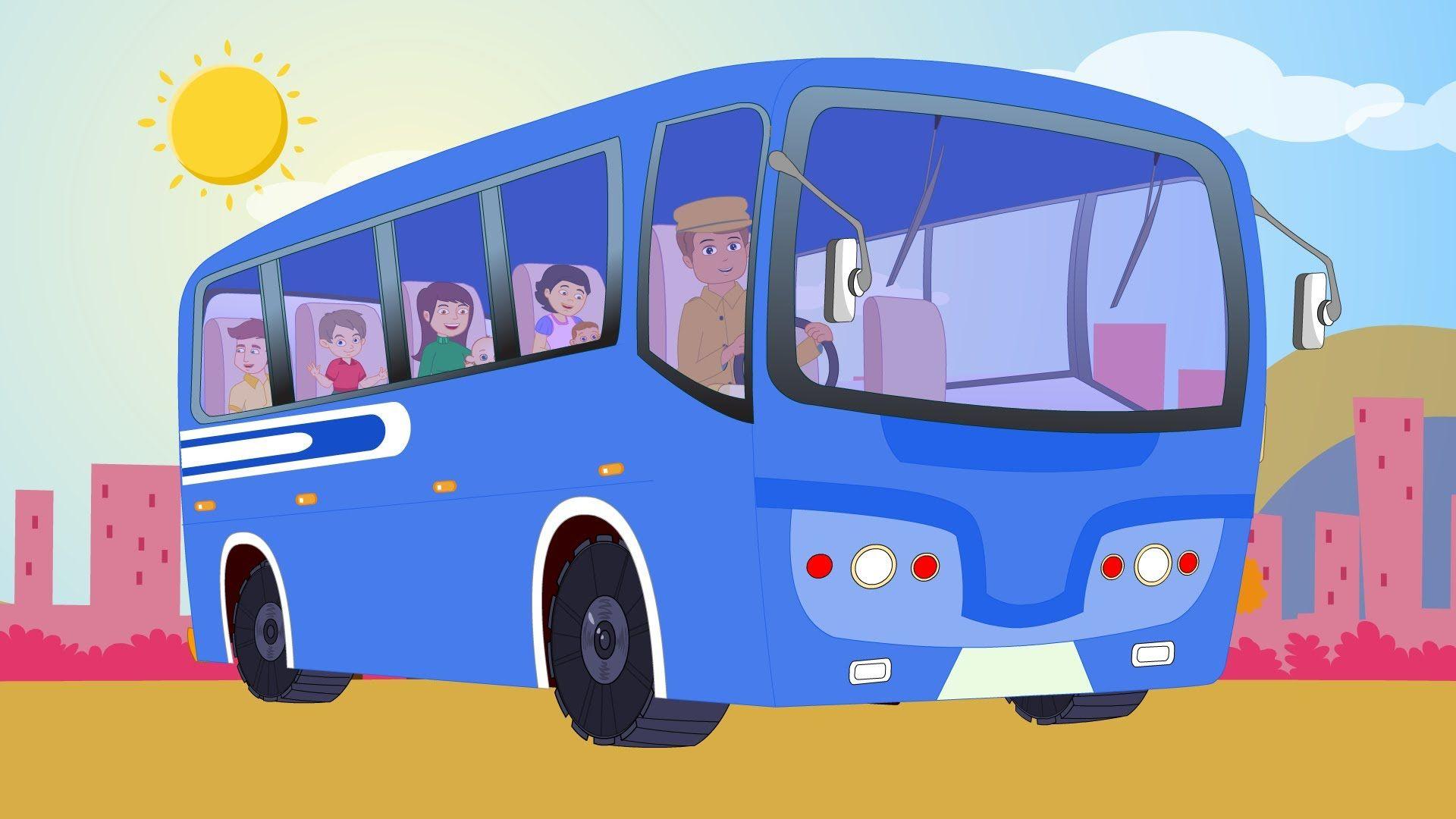 первую очередь, картинки веселые автобусы на дороге горбуши