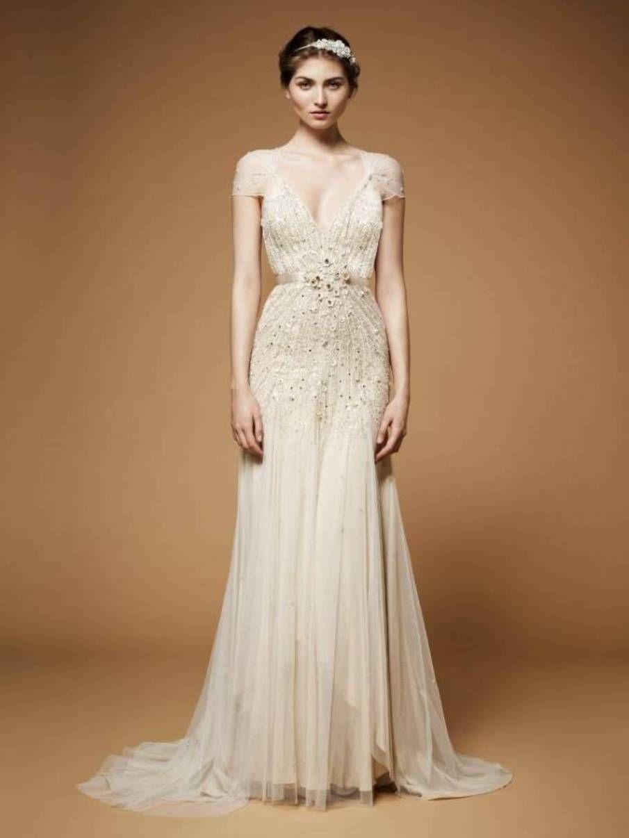 Images of Cream Wedding Dress - Reikian