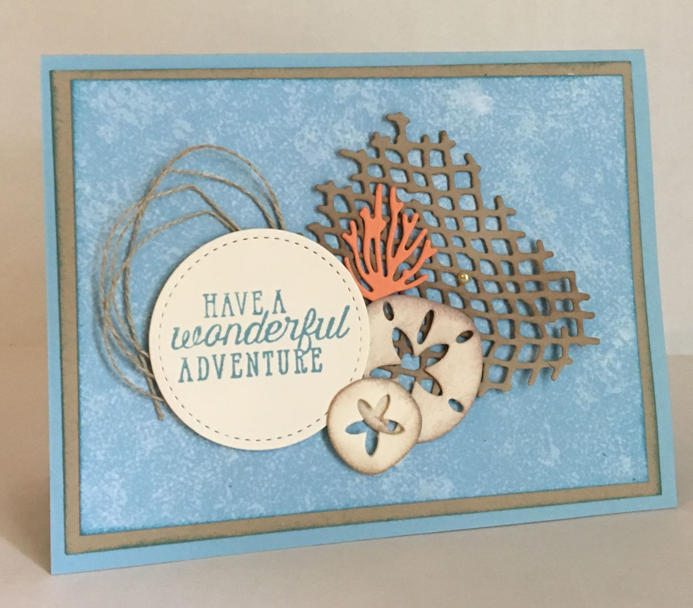 The des of textured bundle from the new stampin up annual