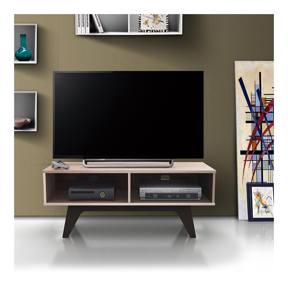 Mesa Para Tv Skanor William Nogal 00750128032343 Walmart Tienda En
