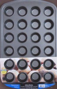 Mainstays Non Stick 24 Cup Mini Muffin Pan Approx 17 Quot X