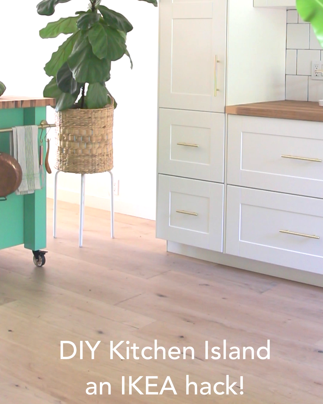Photo of Easy Farmhouse DIY Kitchen Island (an IKEA Hack!)