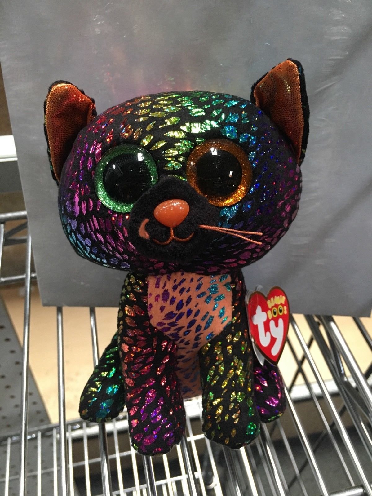 16db9a1abb6 Beanbag Plush 49019  Ty Beanie Boos Spellbound The Cat-New Claires Halloween  Exclusive 6 Mwmts -  BUY IT NOW ONLY   13.9 on eBay!