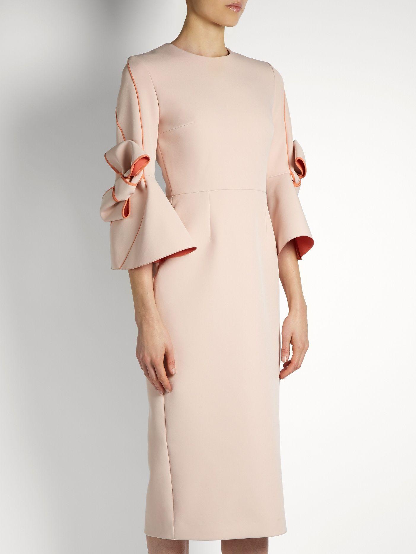Buy Cheap Shop For 2018 New Online Lavete crêpe dress Roksanda Ilincic Hyper Online Buy Cheap 100% Guaranteed q899nbPuQh