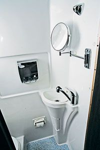 A Review 2011 Airstream Interstate 3500 This Is The Bathroom Based On Mercedes Benz Sprinter