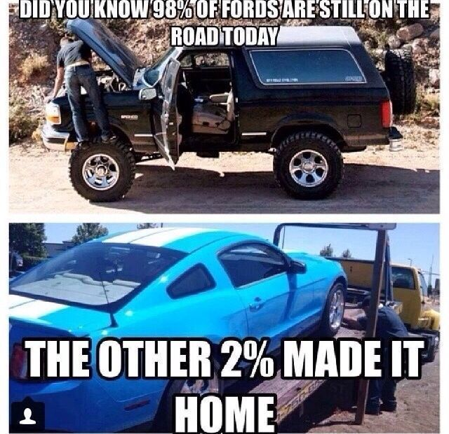 Image Result For Ford Vs Chevy Jokes Ford Humor Chevy Jokes