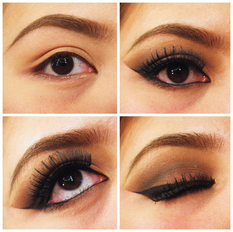 Dramatic Brown Eye Makeup Cute Pinterest Brown Eyes Makeup