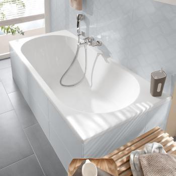 Villeroy Boch O Novo Solo Rectangular Bath L 160 W 70 H 45 Cm Star White Uba160cas2v 96 Reuter Onlineshop Villeroy Boch Bathroom Design Bath