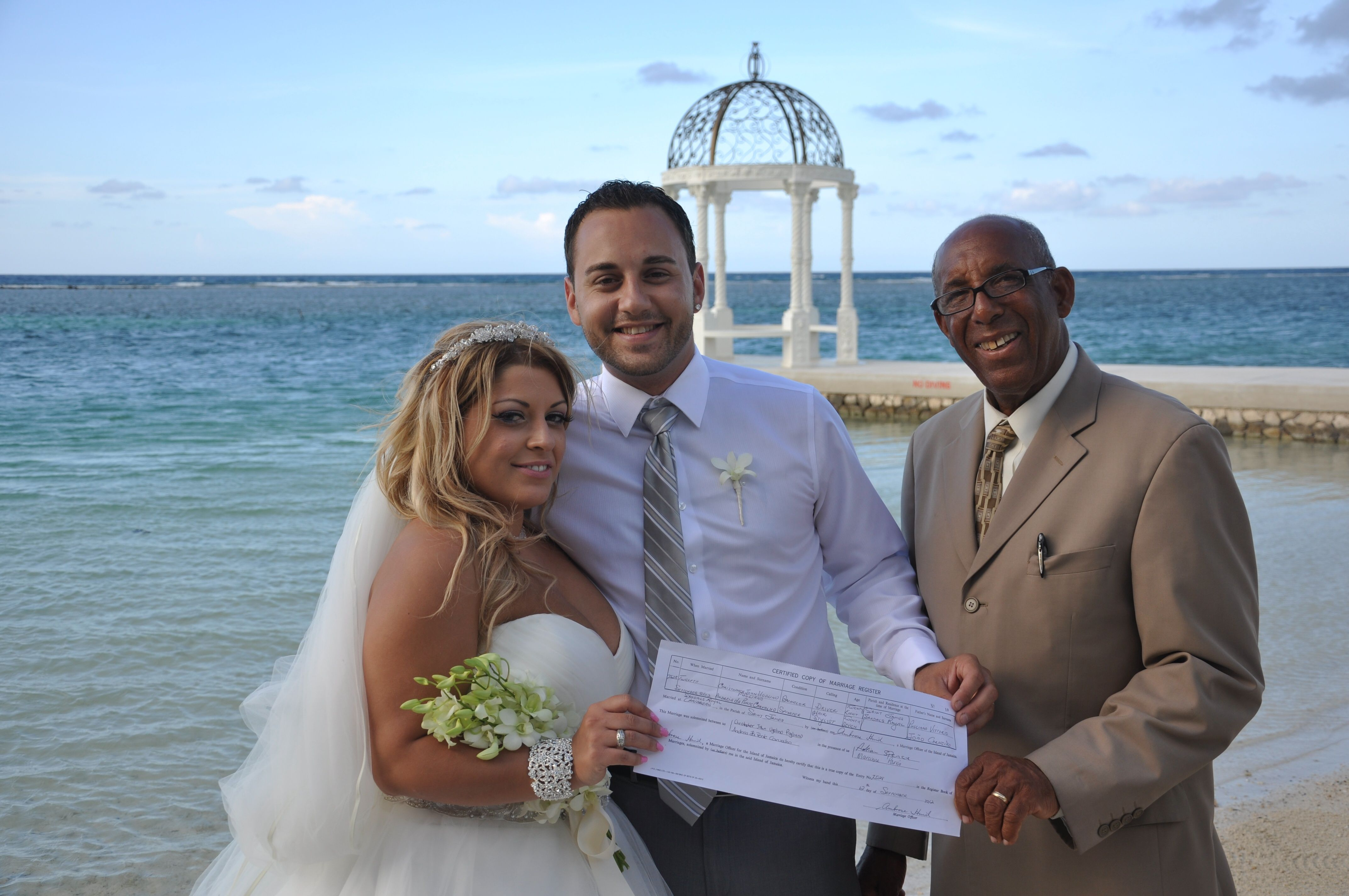 OUR DREAM WEDDING AT SANDALS ROYAL CARIBBEAN IN JAMAICA