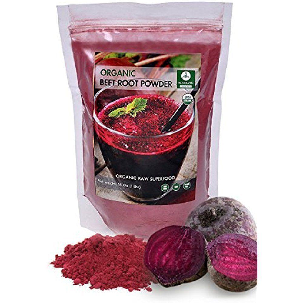 Organic Beets Beet Root Powder 1lb By Naturevibe Botanicals