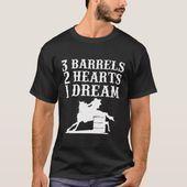 Barrel Race Horse Racer Geschenk I Barrel Racing Show TShirt  Zazzle racing Barrel Race Horse Racer Geschenk I Barrel Racing Show TShirt  Zazzle