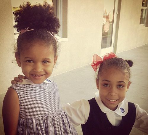 Erykah Badus Daughters Puma And Mars Are Breathtakingly