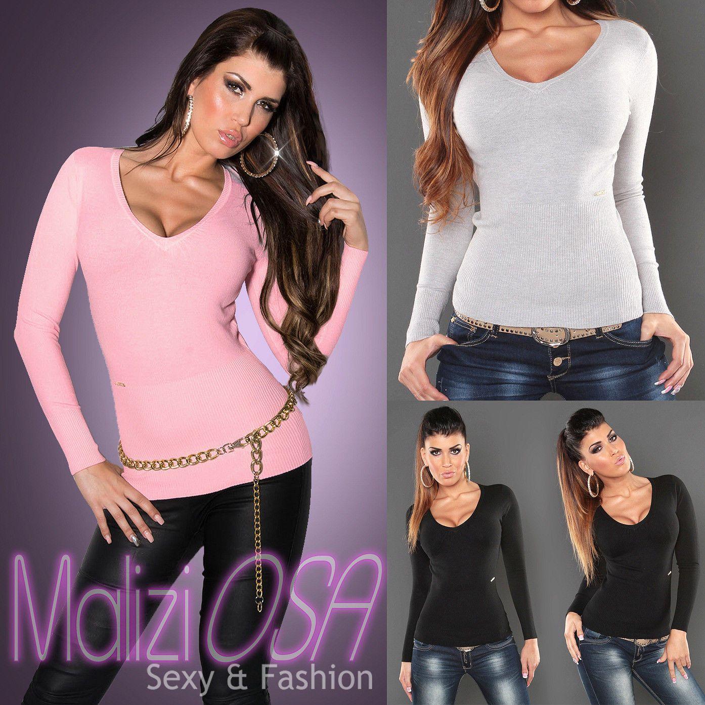 best prices united kingdom clearance sale Maglione Donna Sweater Misto Cachemire scollo V Maglioncino ...