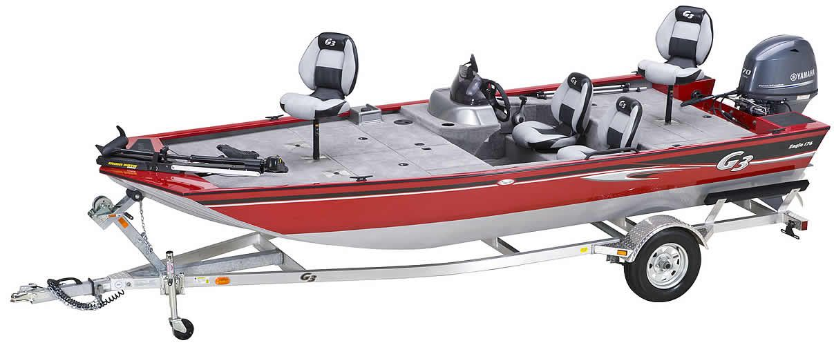Aluminum fishing boats and pontoon boats g3 boats for G3 fishing boats
