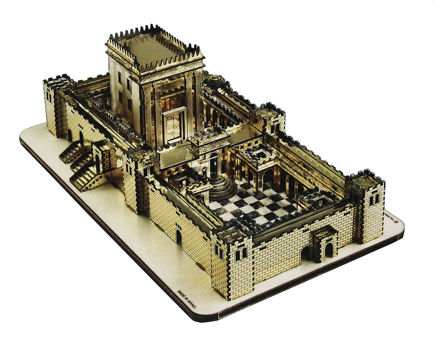 Jerusalem golden temple laser cut do it yourself kit golden temple jerusalem golden temple laser cut do it yourself kit solutioingenieria