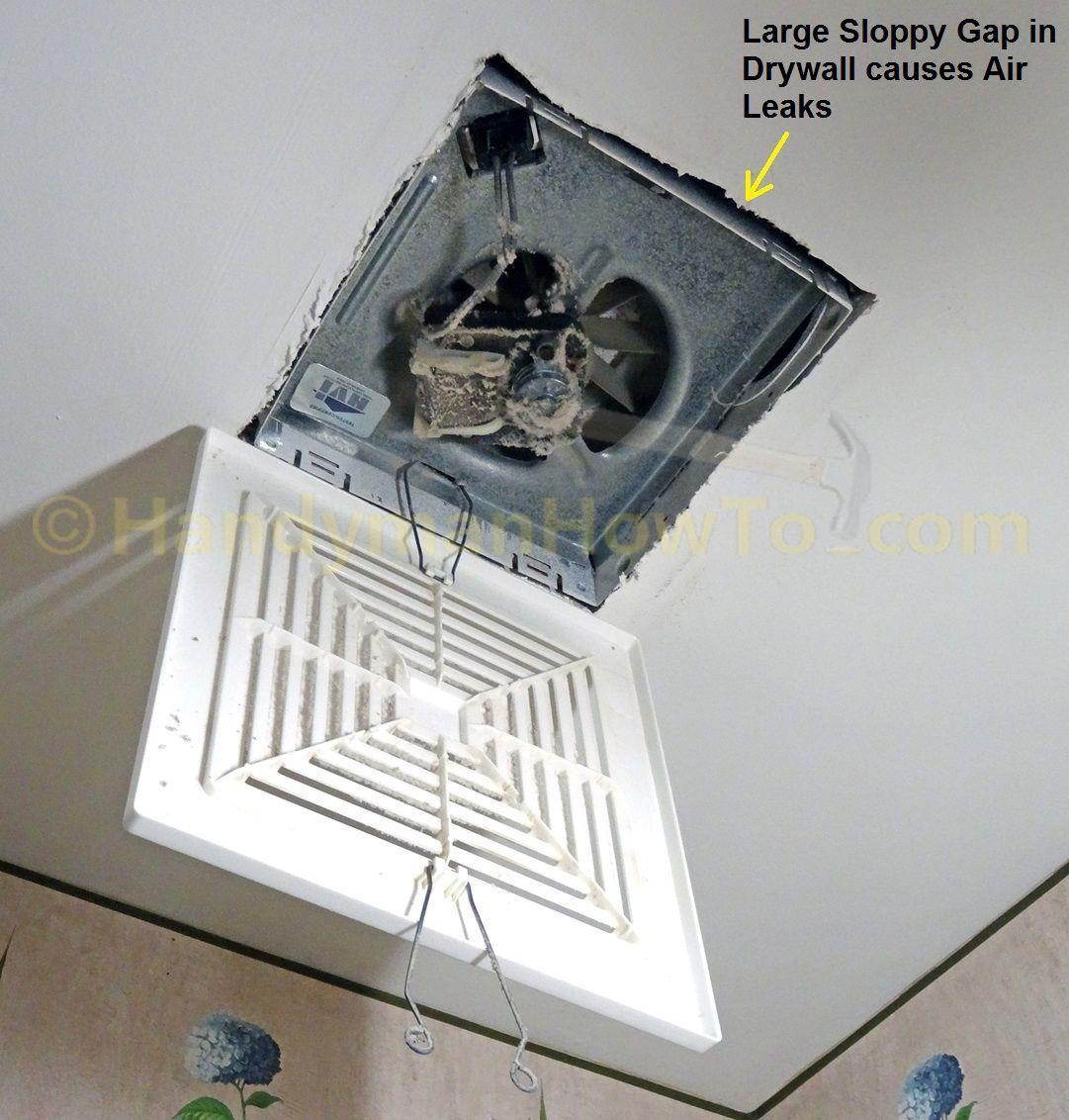 how to instal bathroom exhaust fan
