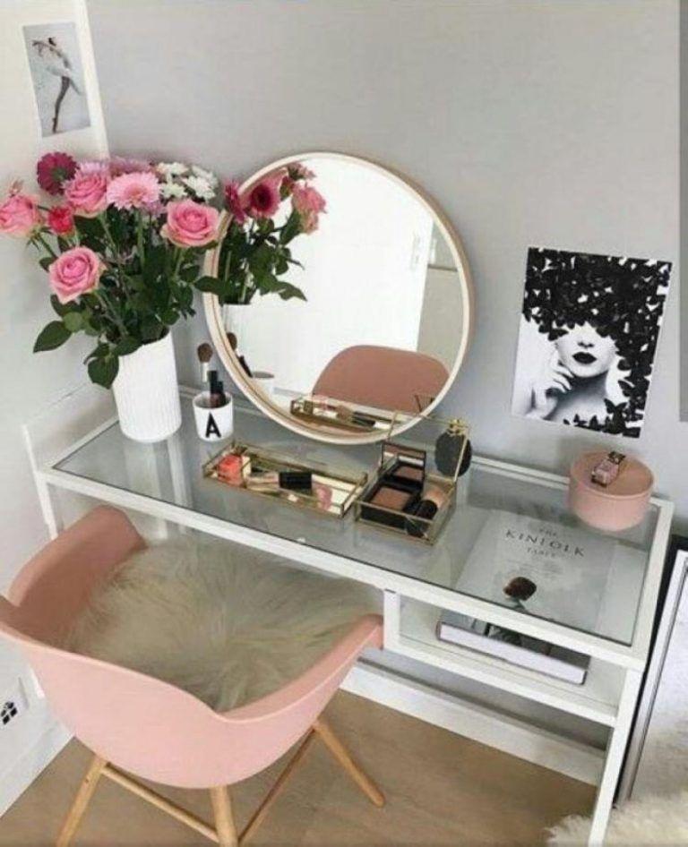 Creative Diy Makeup Vanity Design Ideas 10 Diy Vanity Mirror Stylish Bedroom Interior
