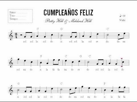 Leccion 23 Partitura Cumpleanos Feliz Curso De Piano En Dvd